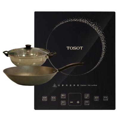 TOSOT Indukciós főzőlap edényszettel