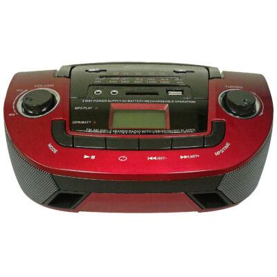 FEPE FP-201U hordozható MP3-as rádió