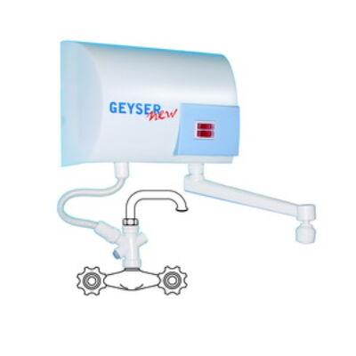 GEYSER SINK Átfolyásos vízmelegítő vízcsappal