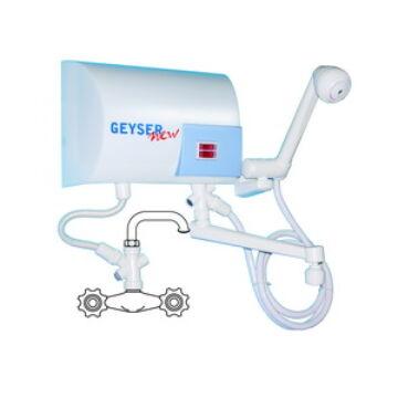 GEYSER SHOWER+SINK Átfolyásos vízmelegítő zuhanyrózsával+vízcsappal