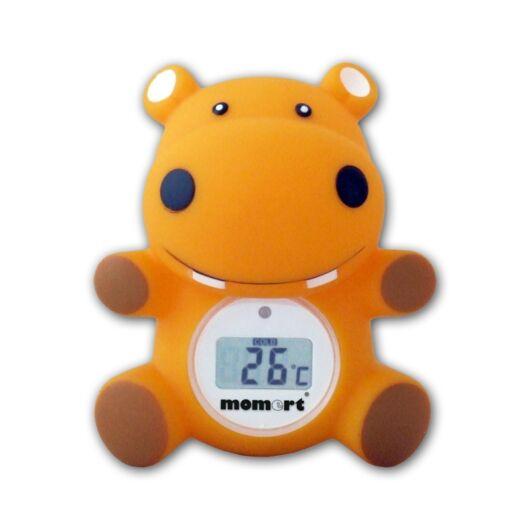 Momert vízilovas víz- és szobahőmérő