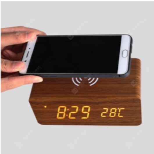 Fa burkolatú, Bluetooth telefontöltő és hangszóró