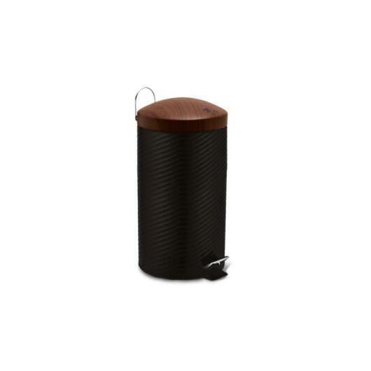 Berlinger Haus Ebony Rosewood Line rozsdamentes szemetes, 20 L, fekete/rózsafa BH/6451