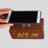 Kép 1/2 - Fa burkolatú, Bluetooth telefontöltő és hangszóró